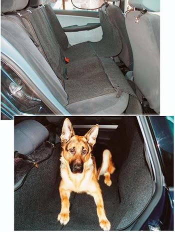 Подстилка в машину для перевозки собаки