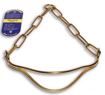 специальный выставочный ошейник с металлическим кадыком